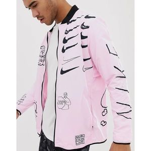 Nike x Nathan Bell Printer Water Repellent Jacket
